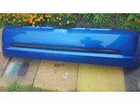 RENAULT CLIO MK2 SPORT 2005 PLATE REAR BUMPER BLUE