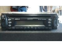 Sony CD/radio pop off front stereo