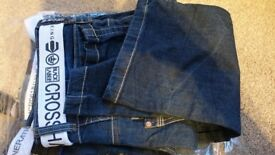 32R Mens BRANDED DENIM Jeans CROSS HATCH, DUNNES,RINGSPUN, etc NEW