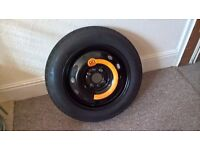 Spacesaver Pirelli Spare Tyre for Fiat Punto 8V Active (135/80 B14 80P). Brand New!