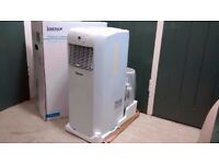 Igenix IG9902 3-in-1 Portable Air Conditioner with Heating Function, 9000 BTU, 1100 W