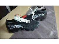 NEW Off white Vapormax mens Nike trainers size 7