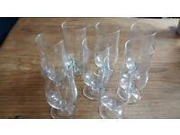 Set of 8 Glasses excellent quality, look very stylish and can be used for any occasion