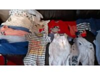 huge bundle 96 items baby boys clothes newborn, first size and 0-3 months