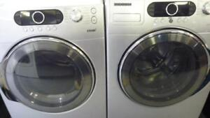 111- Laveuse Sécheuse Frontales SAMSUNG  VRT À VAPEUR / STEAM Frontload Washer and Dryer