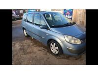 2005 reanult sienic 7 seater 2.0 automatic - mot