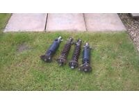 MG ZR Coilovers / Exhaust