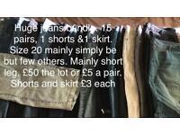Size 20 jeans bundle