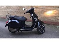 Vespa gt 300 registered as a 125 2007