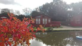 Superb lodge for sale at Yaxham Waters Holiday Park in rural Norfolk open 11 months Great Fishing!!!