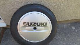 Suzuki Grand Vitara spare wheel and tyre