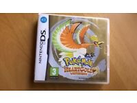 Pokemon heartgold heart gold nintendo ds boxed