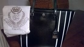 Ralph Lauren Handbag, as seen in picture Bought in New York for $200