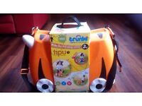 Trunki ride on pull along suitcase