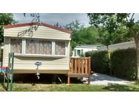Mobile Home in South Fraance Argeles sur Mer 2 bedroom sleeps 6 Air/con,BBQ,Full itinary 4 star site