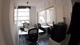 5 Desks Spaces Available in Soho