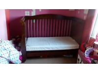**Quick sale** beautiful sleigh cot/cot bed