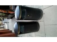 Two large street-style bins excellent central London bargain