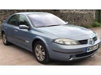 RENAULT LAGUNA, 55 PLATE, 2.0 LITRE PETROL, 5 DOOR, 1 OWNER FROM NEW! 12 MONTHS MOT!