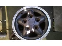 landrover discovery alloys x4 with nuts