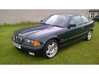 RARE BMW 323i COUPE 2.5 PETROL, GENUINE M-SPORT ALLOYS, DRIFT CAR?