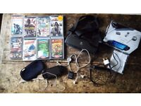 Sony PSP Value Pack Plus 8 Games
