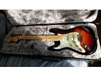 Left handed Fender Elite Stratocaster.