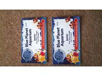 2 x Junior Blue Planet Aquarium Tickets