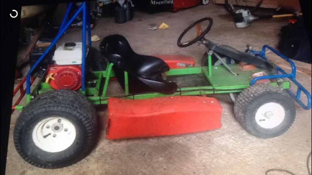 Go cartin Clogher, County TyroneGumtree - Petrol powered American style go cart suitable for outdoors in all types of weather