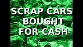 Scrap cars wanted top price