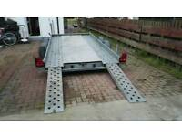 Woodford Car Transporter Trailer