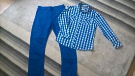 Boys Trousers and shirt