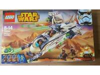 Brand new and sealed LEGO Star Wars Wookiee Gunship - 75084
