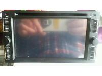 double din dvd player