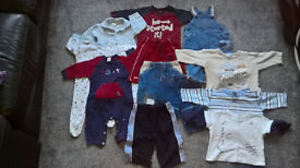 Baby Boys 3-6 months Clothes Bundle (11 items)