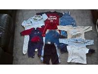 Baby Boys 3-6 months Clothes Bundle (11 items)