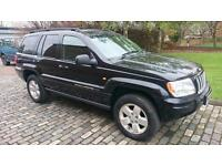 JEEP GRAND CHEROKEE 2.7 CRD Limited 5dr Auto (black) 2004