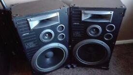Excellent Jamo Laser power 5000p 3 way stereo hi-fi speakers: