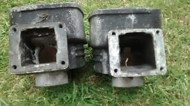 Yamaha RD250LC RD 250 LC 4L1 Odd Pair of barrels cylinders 1 tuned, 1 not tuned