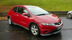 2009 59 Honda Civic Type S 1.4i 1.4 VTEC 3DR Low Mileage Full Honda Service History