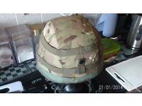 MK7 kevlar & MK6 Balistic Used in combat army helmets
