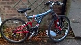 Mountain Bike to suit 9-11 year old.