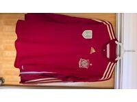 Spain Home shirt, Longsleeve, 2014/16 - large