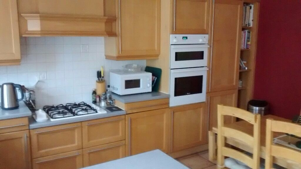 Kitchen cabinets double oven gas hob in nottingham for Kitchen cabinets gumtree