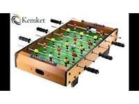 Wooden Table Football set 'World Champion'