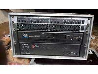 PA EQUIPMENT (2400 watts + 400 watts monitors)