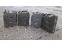 Jerry Cans 20L x 4