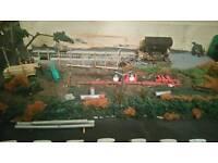Hornby 00 gage railway layout