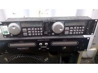 Dual CD player