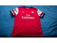 Arsenal Home Shirt 2012-14 Size XL
